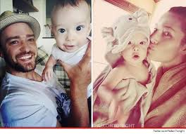 Justin timberake is a son of randy timberlake, a baptist minister, and lynn bomar harless, a manager. Justin Timberlake Jessica Biel Meet Our Kid