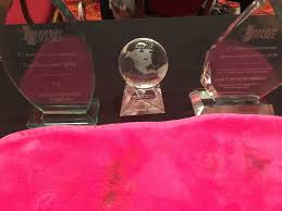 beyond thrilled to be recognized at the 2nd annual makeup eraser convention in arizona with three awards our pany paid for my meals