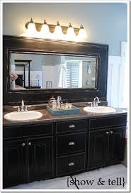 bathroom mirror frame. Frame Bathroom Mirror With Glass Tile