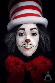 makeup ideas cat in the hat makeup cats cat in hat costume