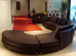 round sectional sofa bed. Round Sectional Sofa Unique Roller Espresso Leather Sectionals Bed E