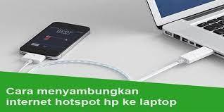 If it isn't, click the button so it turns blue. 3 Cara Menyambungkan Internet Hotspot Hp Android Ke Komputer Pc Laptop