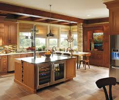Kitchen cabinets wood Light Rustic Kitchen With Cherry Wood Cabinets Freshomecom Rustic Kitchen With Cherry Wood Cabinets Omega