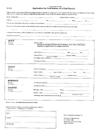 dearmyrtle birth record application form sample birth record application form from virginia sample click to return to dearmyrtle s beginning genealogy lesson 1