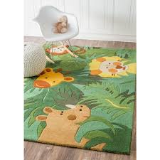 kids rug kids flower rug area rug for toddler boy room jungle rug for nursery