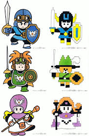 Dragon Quest Design Prototype Of Dragon Quest Ii Pixel Art For Famicom Dragon