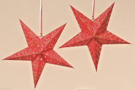 Papierstern Stern Rot Gold Glitzer ø 45 Cm Weihnachtsstern Gr33 Weihnachten Deko