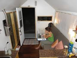 tiny houses in arizona. Carrie Caverly Uses A Swivel Desk In Her Living Room. Tiny Houses Arizona N