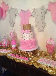 76 best Pink and Gold Baby Shower Ideas images on Pinterest | Gold baby  showers, Party ideas and Baby shower parties
