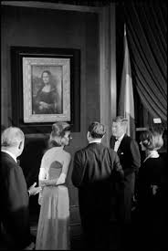 Image result for the Mona Lisa is exhibited for the first time in the United States at the National Gallery of Art in Washington