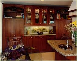 Cherry Wood Kitchen Cabinets Cherry Kitchen Cabinets Affordable Tahoe Cherry Chocolate Glaze
