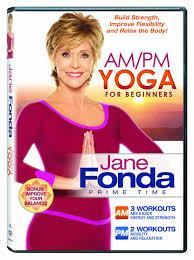 Amazon.com: Jane Fonda: AM/PM Yoga For Beginners [DVD]: Jane Fonda ...