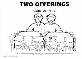 Small Picture And Abel Coloring Pages Bible Based Toys For Children Free