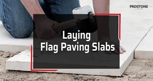 how to lay flag paving slabs step by