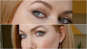 mauve daytime eye shadow tutorial makeup for strawberry blondes redheads
