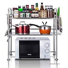 stainless steel microwave oven rack kitchen counter and cabinet shelf color a size 53 37 69cm b07h1tk5mn 500x500 popup jpg