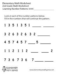 Patterns Worksheets First Grade Free Printables | Homeshealth.info