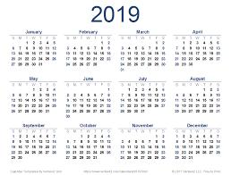 free calendar printable 2019 2019 calendar templates and images