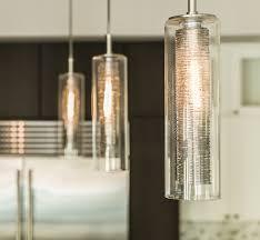 custom blown glass kitchen pendant