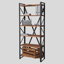 Contemporary Shelf Contemporary Shelf Wooden Steel Commercial Px 80 Noodles
