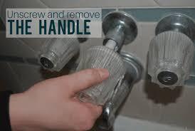 un and remove the diverter valve s handle