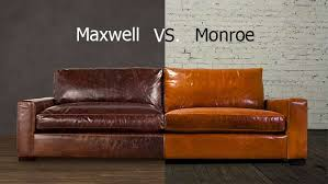 restoration hardware petite maxwell chair. monroe vs maxwell, from cococo home: the is functional equivalent of restoration hardware\u0027s maxwell sofa. they share same contemporary track hardware petite chair