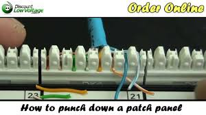 110 punch down block wiring diagram wiring diagram schematics how to punch down a network ethernet patch panel
