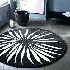 grey and white round rug black and white round rug round petal rug black white black