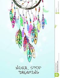 Colorful Dream Catcher Tumblr illustrationamericanindiansdreamcatchercolorfulethnic 63