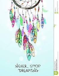Colorful Dream Catcher Tumblr illustrationamericanindiansdreamcatchercolorfulethnic 63