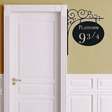 image is loading platform 9 3 4 harry potter door sticker  on artistic wall decal with platform 9 3 4 harry potter door sticker artistic wall decals home