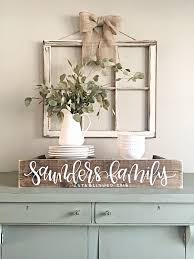 Small Picture Last Name Sign Rustic Home Decor Wedding Established Date
