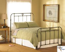 braden iron bed wesley. Antique Iron Beds - American Bed Company Authentic Cast Frames Braden Wesley