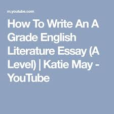 thesis statement for an essay how to write a high school essay  english essay internet best a level english literature ideas a level english english literature classroom and english literature thesis