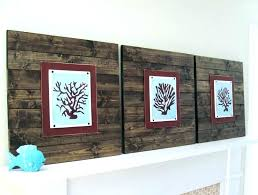 wood plank wall art wooden wall art decor love with reclaimed wood