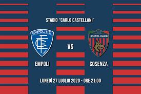 Cosenza Calcio - ⚽ MATCH DAY 🐺 🆚 Empoli Fc Official 🏆 Lega...