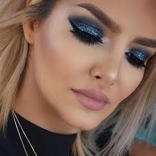 collection of 23 amazing blue eyeshadow looks if you need a bit of sparkle onto your eyes you definitely love to grab glittery eyeshadow