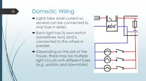 domestic circuits learning outcomes ppt video online download how to wire multiple lights to one cord at House Wiring Lights In Series