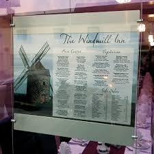 Menu Display Stands Restaurant Restaurant window menu Wire display stand hanging signs 50