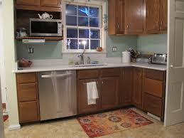 Small Picture Oak Cabinets Image Gallery Of Wondrous Design Kitchen Flooring