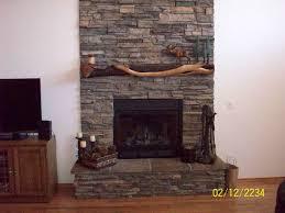 living room, custom interior, river rock, fireplace