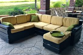 pallet furniture garden. Shocking Diy Pallet Sectional Sofa Home Improvement Decor Outdoor For Furniture Style And Wooden Trend Garden A