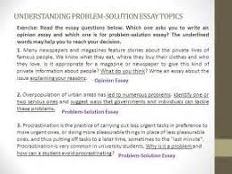 problem solution essay topics college how to write an allegory problem solution essay topics college