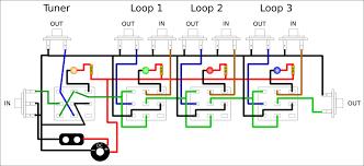 diy looper pedal diy projects ideas ttone diy true byp looper metal effects pedal electric guitar