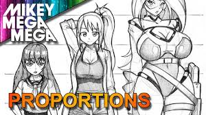 Anime Body Drawing Easy Tutorial Pdf Proportions References Practice