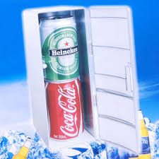 Cool Drink Fridge Mini Portable Usb Fridge With Cooler Warm Functions Bottle Size