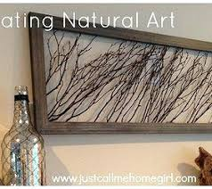natural wall art ideas