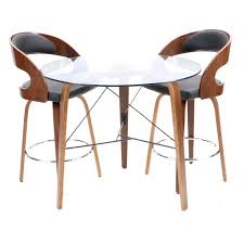 armen living coffee table modern style glass top table and swivel bar height chairs by living