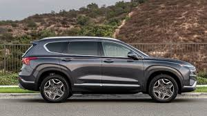 The santa fe is fairly satisfying to drive, although none of the models could be called outright athletic. 2021 Hyundai Santa Fe Revealed With Fresh Design Hybrid Powertrain And Added Features Auto News
