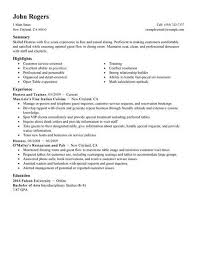 Hostess Resume Simple Best Host Hostess Resume Example LiveCareer